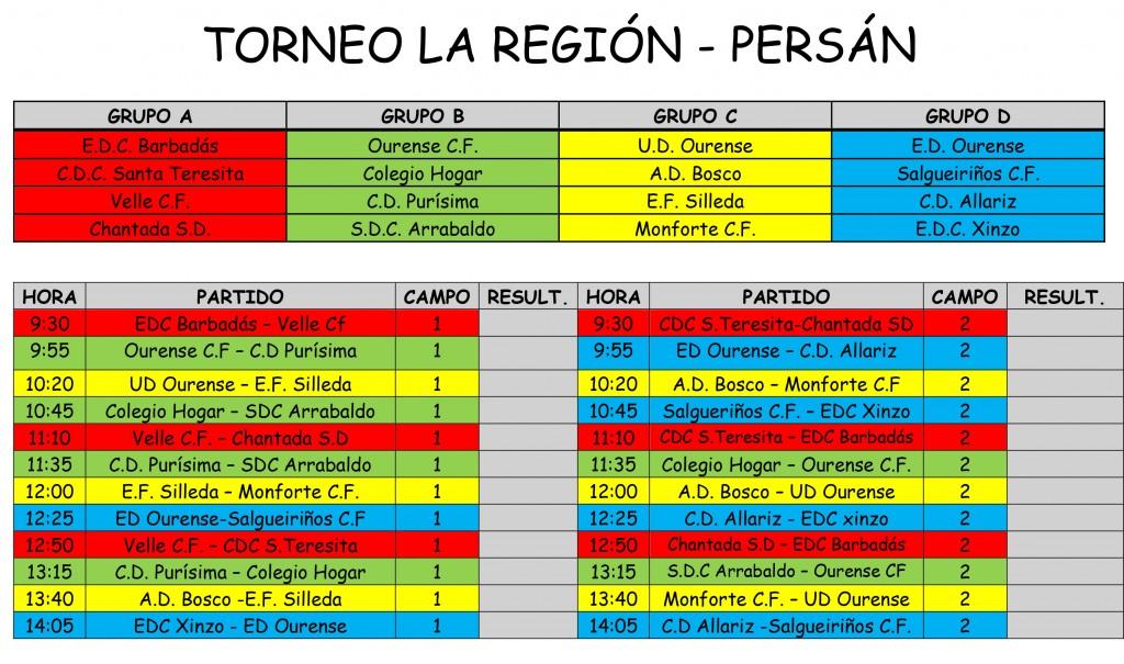 Torneo La Región - Persan (17 DE MAYO)